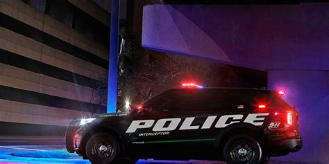 2020 Ford Police Interceptor Utility Is Quickest in Police