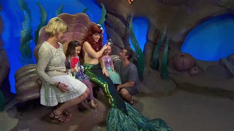 Ariel's Grotto Meet and Greet - YouTube