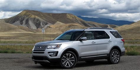 2016 Ford Explorer Platinum First Drive – Review – Car and
