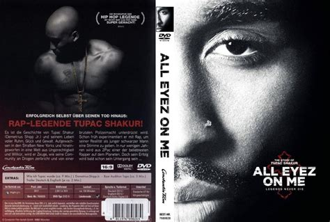 All Eyez on me (2017) R2 GERMAN DVD Cover - DVDcover