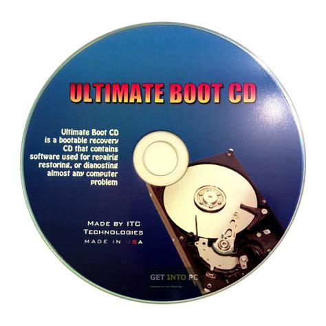 Ultimate Boot CD for Windows 7 - Many diagnostic programs