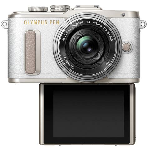 Olympus PEN E-PL8 Mirrorless Camera with 14-42mm II R Lens