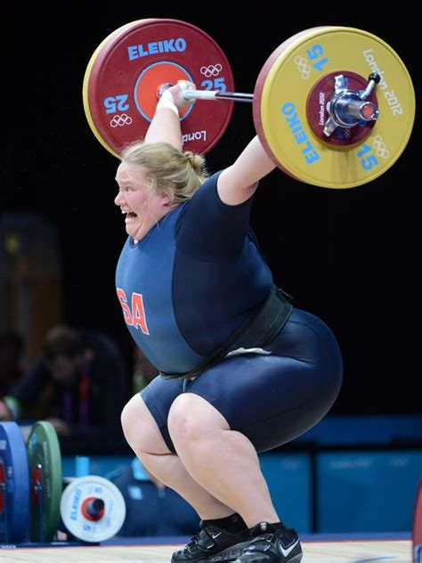Olympian says appearing on 'Biggest Loser' helped her