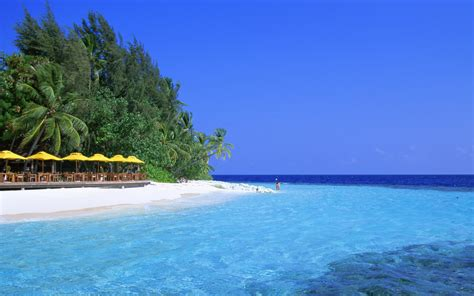 Blue Water Beach Wallpapers | HD Wallpapers | ID #3750