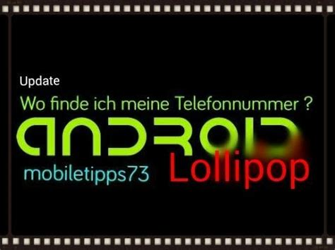 OUTDATED - Android:Wo finde ich meine Handynummer
