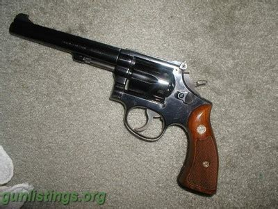 Smith and Wesson 357 Magnum Revolver 6