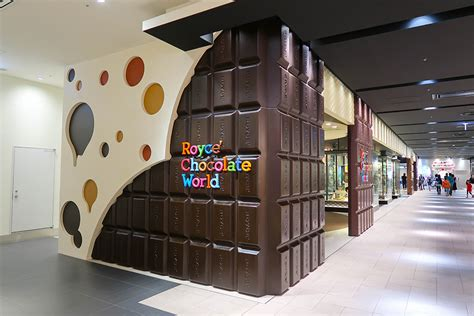 Royce' Chocolate Factory at New Chitose Airport in