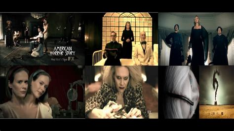 American Horror Story - Teasers Compilation (Season 1, 2